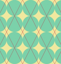 diamond and circles texture vector image vector image