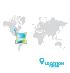43 6 2016 location vector image