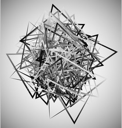 abstract geometric shapes contemporary art made vector image