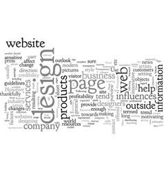 Business website tips vector
