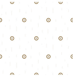 Copyright symbol thin abstract seamless pattern vector
