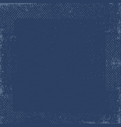 Dark blue grunge vintage old paper background vector
