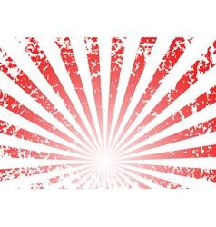 Grunge sunrise background vector
