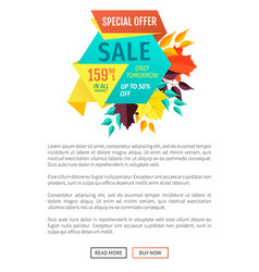 Sale special exclusive offer vector