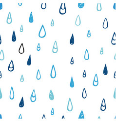 tear and drop signs seamless pattern vector image