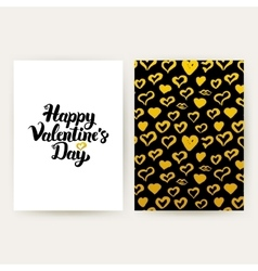 Happy Valentines Day Trendy Posters vector image