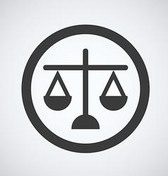 justice design vector image