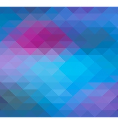 Geometric Triangle neon background pattern vector image