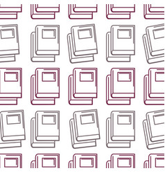 Silhouette books tool study to learn things vector