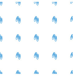 Ballet shoes icon pattern seamless white vector