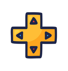 Joystick for video game arrow direction vector