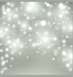 silver light background christmas design with vector image