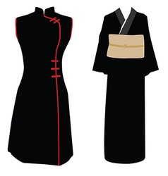 traditional dress vector image