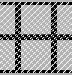 Check fashion seamless pattern vector
