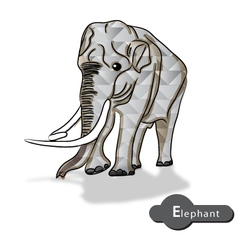 Elephant abstract eps10 vector