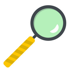magnifier icon isolated vector image