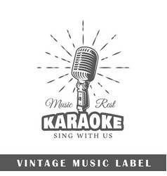 Music label vector