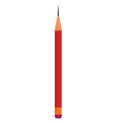 pencil hand drawn design on white background vector image