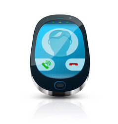 realistic phone vector image