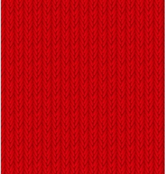 Red Sweater Texture Background vector