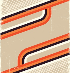 Retro color abstract for design background on old vector