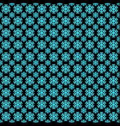 Seamless geometric winter snow pattern wallpaper vector