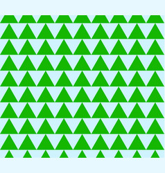 Seamless pattern made of triangles triangle vector