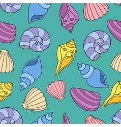 shell set vector image vector image