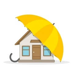 House insurance concept vector image vector image