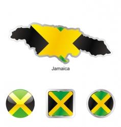 Jamaica vector image