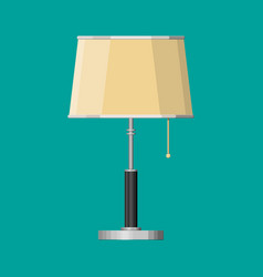 furniture interior lamp lighting equipment vector image