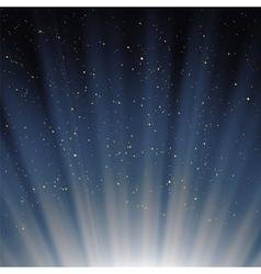 Blue Sky Background vector image