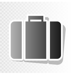 briefcase sign new year vector image