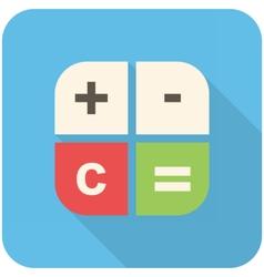 Calc icon vector image
