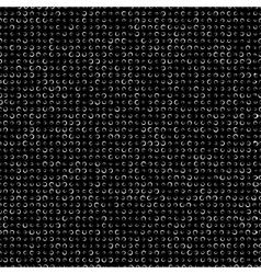 Circled Seamless Texture vector image