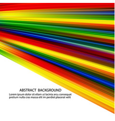 colorful smooth design light lines background vector image