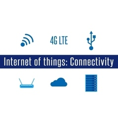 IoT - Connectivity vector