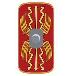 Legionary shield vector