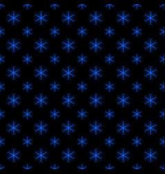 seamless retro geometric snowfall pattern vector image
