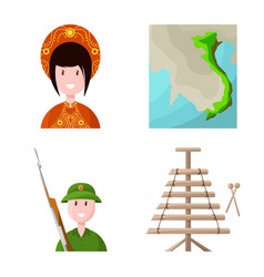 Travel and country sign vector