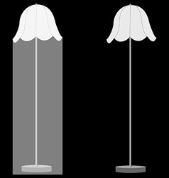 Two lamps vector image