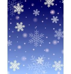 Winter design vector image
