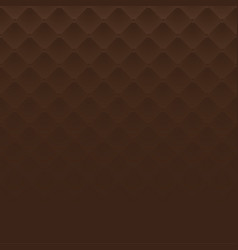 brown square luxury pattern sofa texture vector image