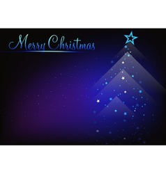 Abstract Christmas Greeting vector image vector image
