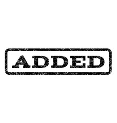 Added watermark stamp vector