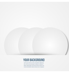 infographics circles template design vector image vector image