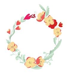 Blossom flower vector image