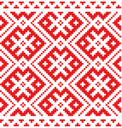 Russian traditional ornament vector