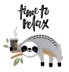 Time to relax vector