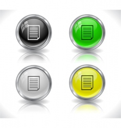website buttons vector image vector image